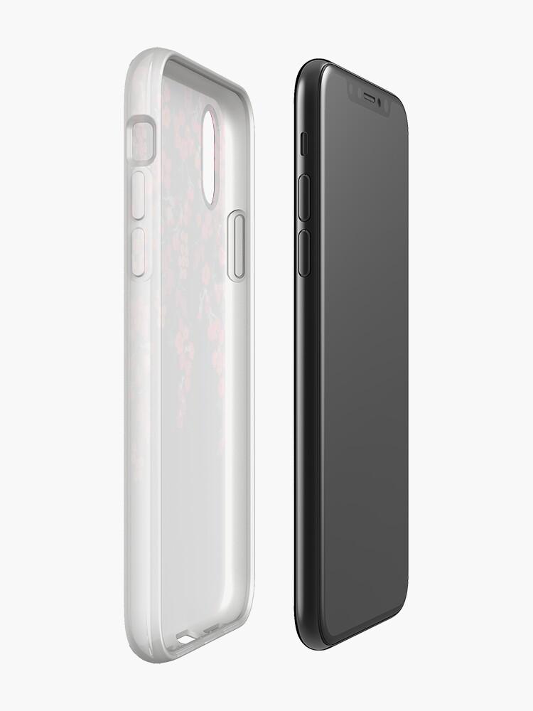 Alternative Ansicht von Rouge im schwarzen Iphone Fall iPhone-Hülle & Cover