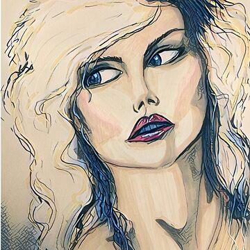 Blondie glam  by Bluetreemoon3
