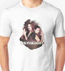 Mrs & Mrs Wayhaught (no background) Unisex T-Shirt