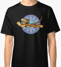 Flying Tigers Insignia - (Non-Weathered Version) - World War II - American Volunteer Group Classic T-Shirt