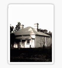 Abandoned Caretaker's Cottage Sticker