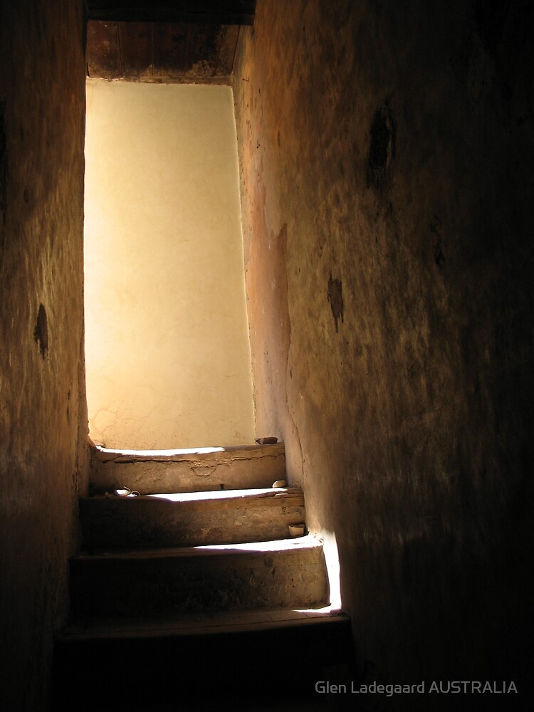 Marrakech Stairway by Glen Ladegaard AUSTRALIA