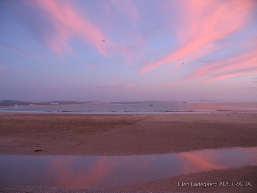 Essaouira Sunset by Glen Ladegaard AUSTRALIA