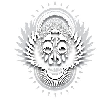 Afro-Skull by erickwiz
