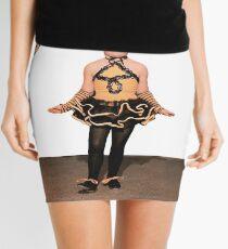 Rock Blind in Chains Mini Skirt