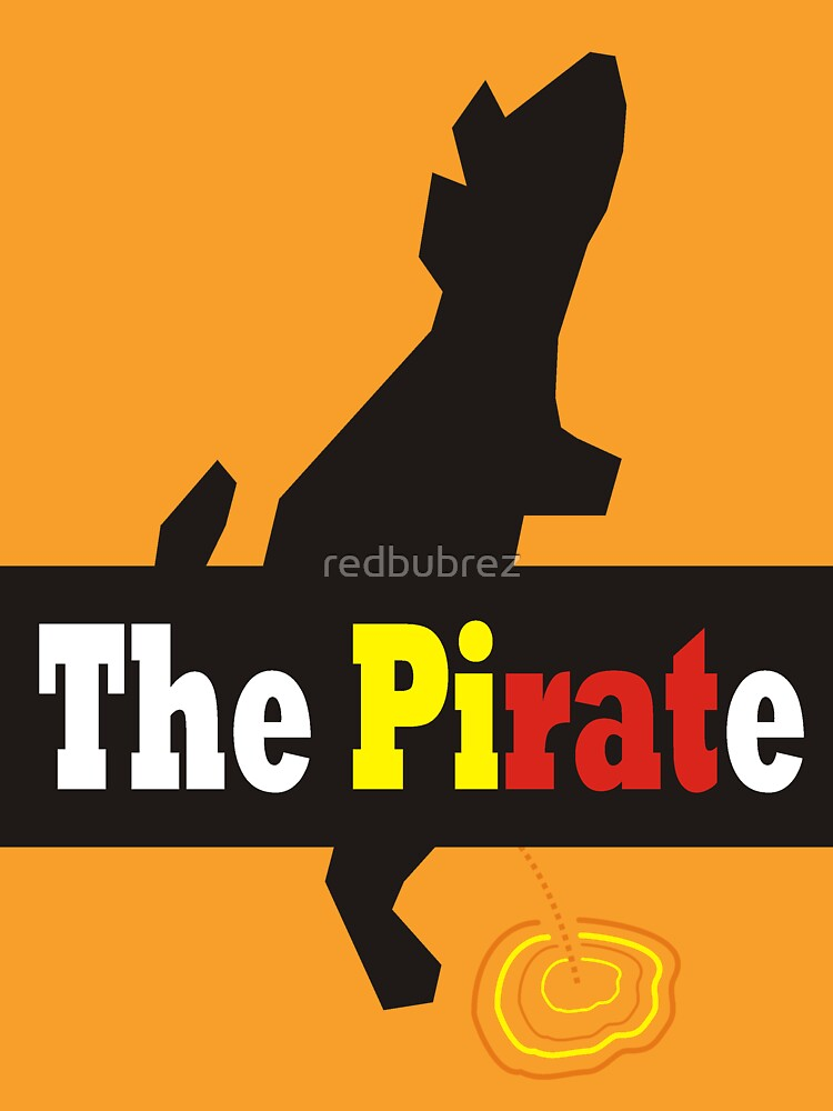 The Pirate by redbubrez