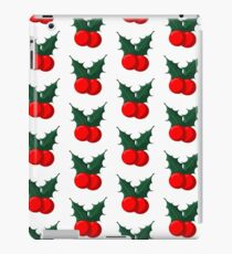Holly Holidays  iPad Case/Skin