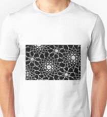 Vintage White Tatted Lace  Unisex T-Shirt