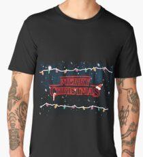 Merry Christmas Stranger Things Men's Premium T-Shirt