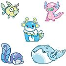 Cosmo's Water Type Batch 1 by Cosmopoliturtle