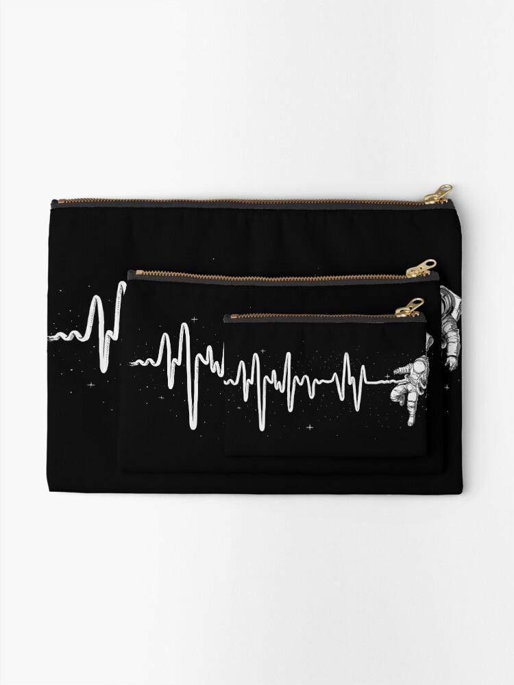 Vista alternativa de Bolsos de mano Latido del corazón del espacio