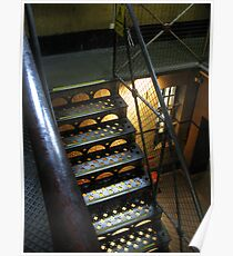Stairway: Old Melbourne Gaol Poster