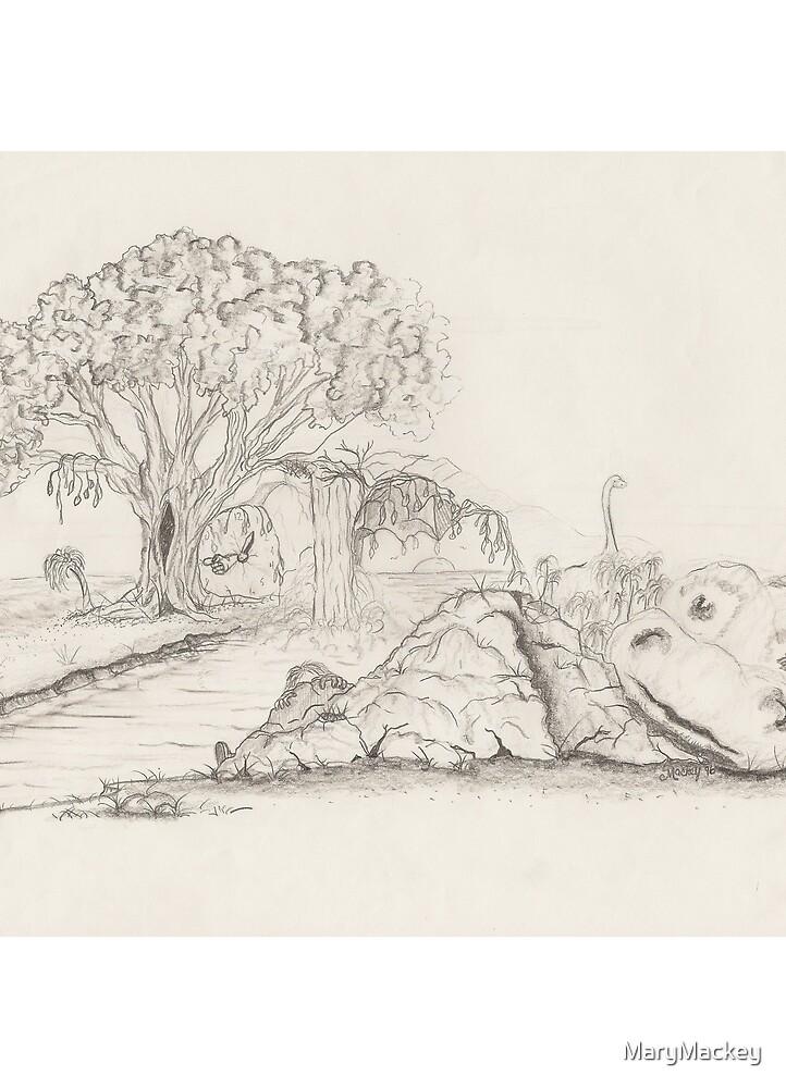 Dinosaur Rock by MaryMackey