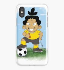 "Marisol ""Soccer Star"" iPhone Case/Skin"