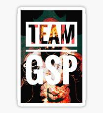 Team GSP (Red & Black)  Sticker