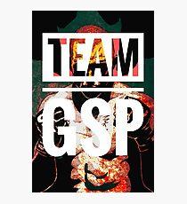 Team GSP (Red & Black)  Photographic Print