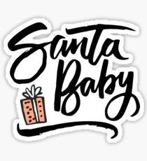 Santa Baby Pegatina