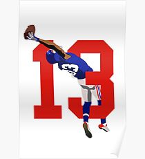 13 Odell catch 2 Poster