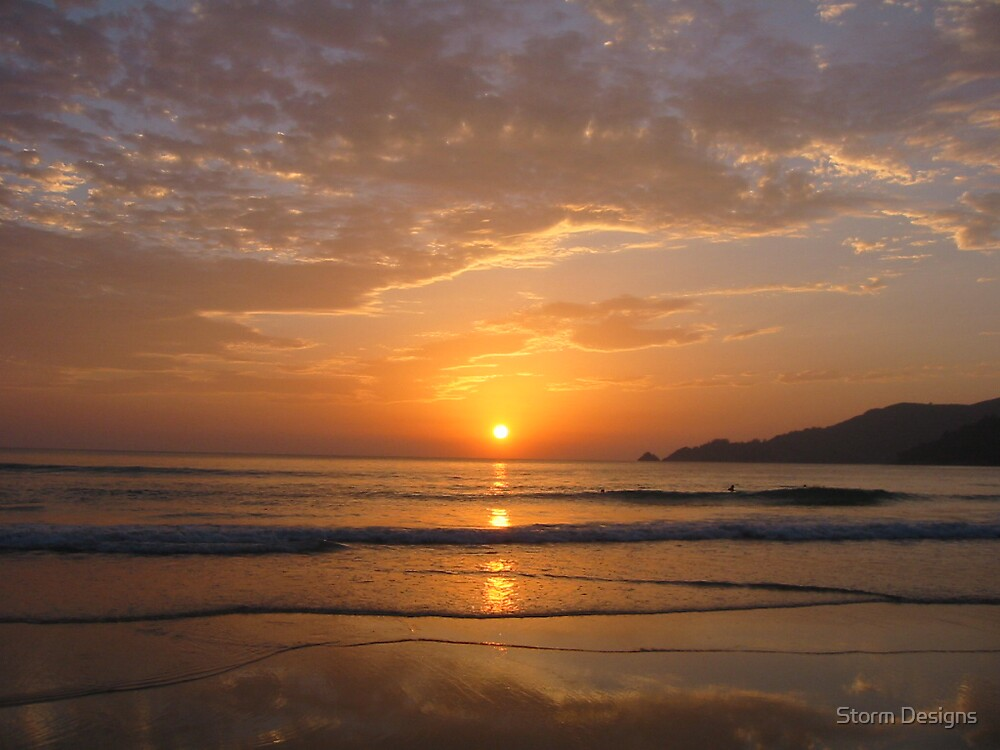 Sunset at Patong Beach - Thailand by Storm Designs