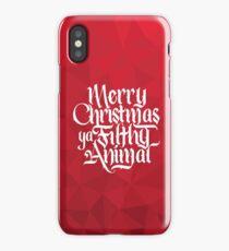 Ya Filthy Animal iPhone Case/Skin