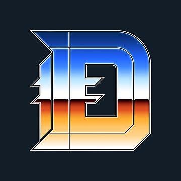 Detroit | The D (Chrome II) by NormalSizedDeet