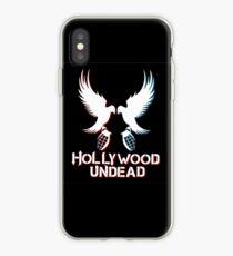 Three Black Papa Undead iPhone Case