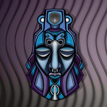 Afro-Purple Haze by erickwiz