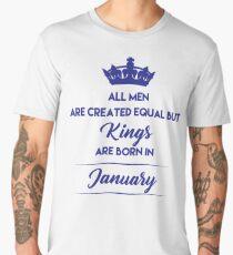 Kings of January - Blue Men's Premium T-Shirt