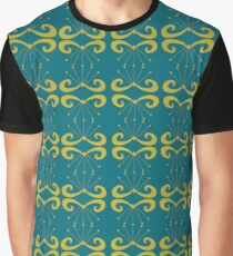 Elegant- cool green and blue Graphic T-Shirt