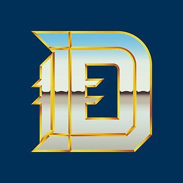 Detroit | The D (Chrome III) by NormalSizedDeet