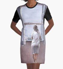 Figure at a Window(Figura en una finestra)-Salvador Dalí  Graphic T-Shirt Dress