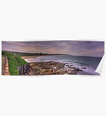 Catherine Hill Bay Poster
