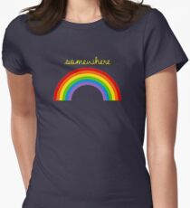 Somewhere Over The Rainbow Women's Fitted T-Shirt