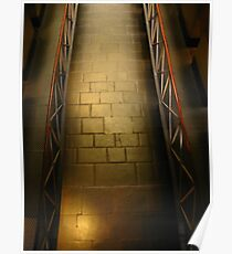 Walkway: Old Melbourne Gaol Poster