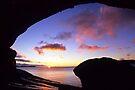 Wave Rock Sunset by Travis Easton