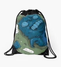 The Meaning of Life Drawstring Bag