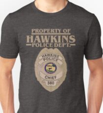 Property of Hawkins Police Dept. - Stranger Things T-Shirt