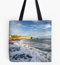 Freshwater Bay Beach Isle Of Wight Tote Bag