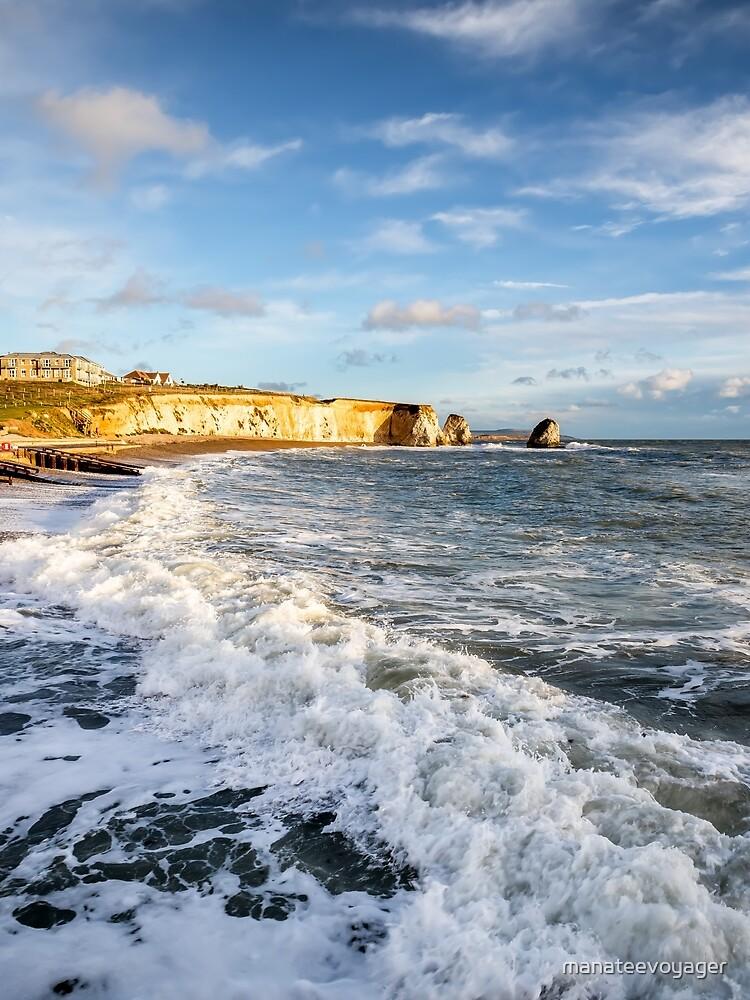 Freshwater Bay Beach Isle Of Wight by manateevoyager