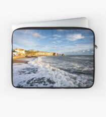 Freshwater Bay Beach Isle Of Wight Laptop Sleeve