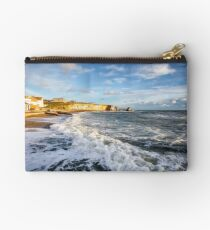 Freshwater Bay Beach Isle Of Wight Studio Pouch