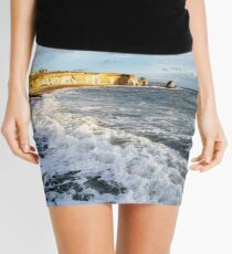 Freshwater Bay Beach Isle Of Wight Mini Skirt