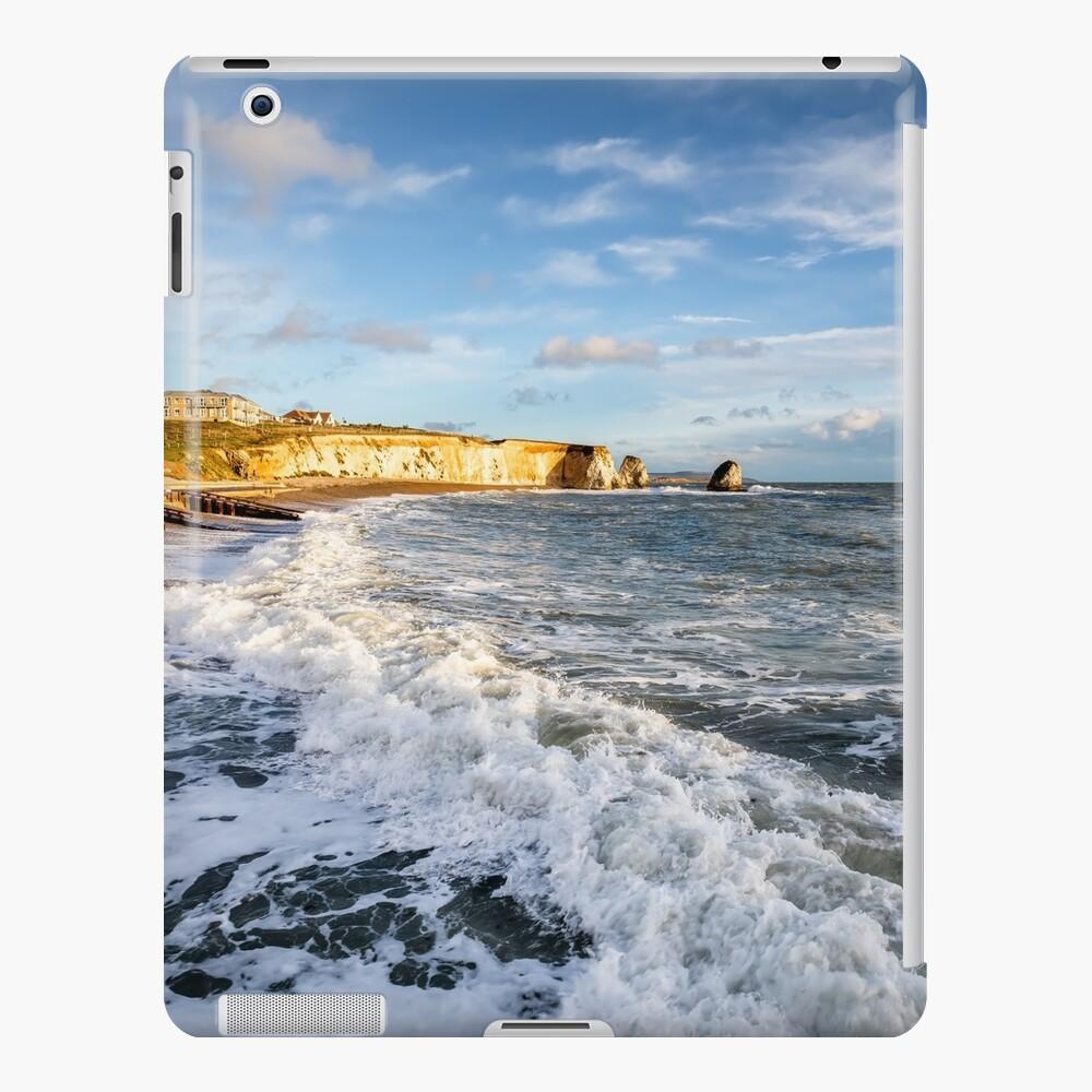 Freshwater Bay Beach Isle Of Wight iPad Case & Skin
