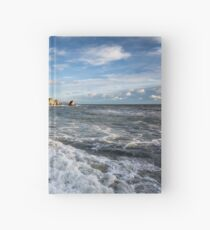 Freshwater Bay Beach Isle Of Wight Hardcover Journal