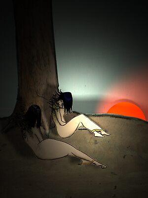 Tree by mrhairdo