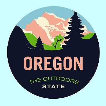Oregon Stickers by eddycasanta
