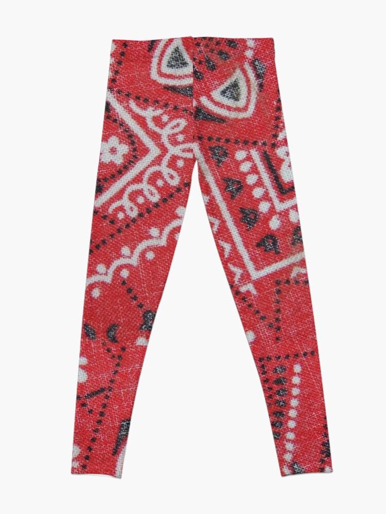 Red Bandana Print | Leggings