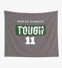 North Dakota Tough - 11 Football  Wall Tapestry