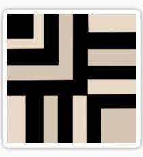 Black and Tan Sticker
