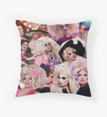 Team Alaska Thunderfuck - All Stars 2 Throw Pillow